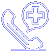 medical consultancy icon make a call